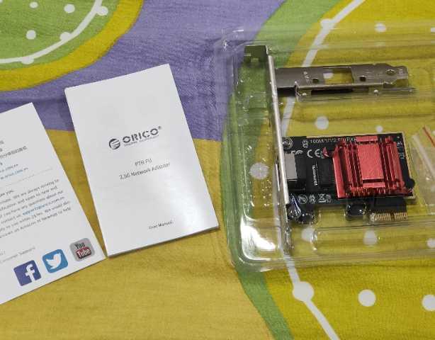 小白网络升级记,ORICO 2.5G 电口扩展网卡体验