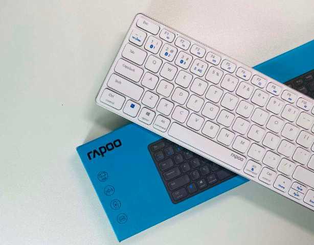桌面颜值好物,雷柏E9350G多模无线刀锋键盘体验,外观功能兼顾
